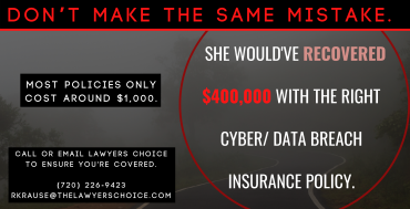 Wouldn't You Rather Pay $1000 for a Policy vs. $400,000+ in Damages?
