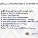 Disciplinary Defense/Grievance Defense Loss of Earnings Reimbursement Crisis Event Coverage Cyber Security Incident Response Employment Practices Liability Coverage Rule 11 Coverage Punitive and Exemplary Damages Subpoena Assistance Coverage Pre-Claim Assistance Non-Profit Directors and Officers Coverage